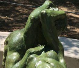Inauguration de la sculpture «Le Triomphe de l'Amour» mardi 10 juillet à 10h