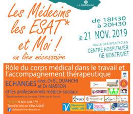 Rencontres Les médecins, les ESAT et moi, un lien nécessaire