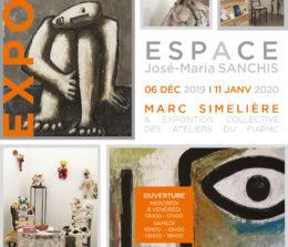 Exposition Espace José Maria Sanchis – Atelier Marie Laurencin – Marc Simelière
