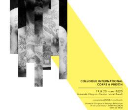 Colloque corps et prison – 19 et 20 mars 2020