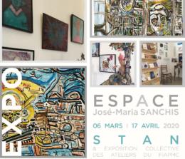Exposition de STAN à l'Espace José Maria SANCHIS